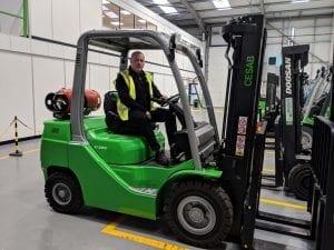 Gas Forklifts Hire, Rental, Servicing, Maintenance & Repairs in Leicester, Northampton, Derby, Warwick, East Midlands, West Midlands, Birmingham and Nottingham
