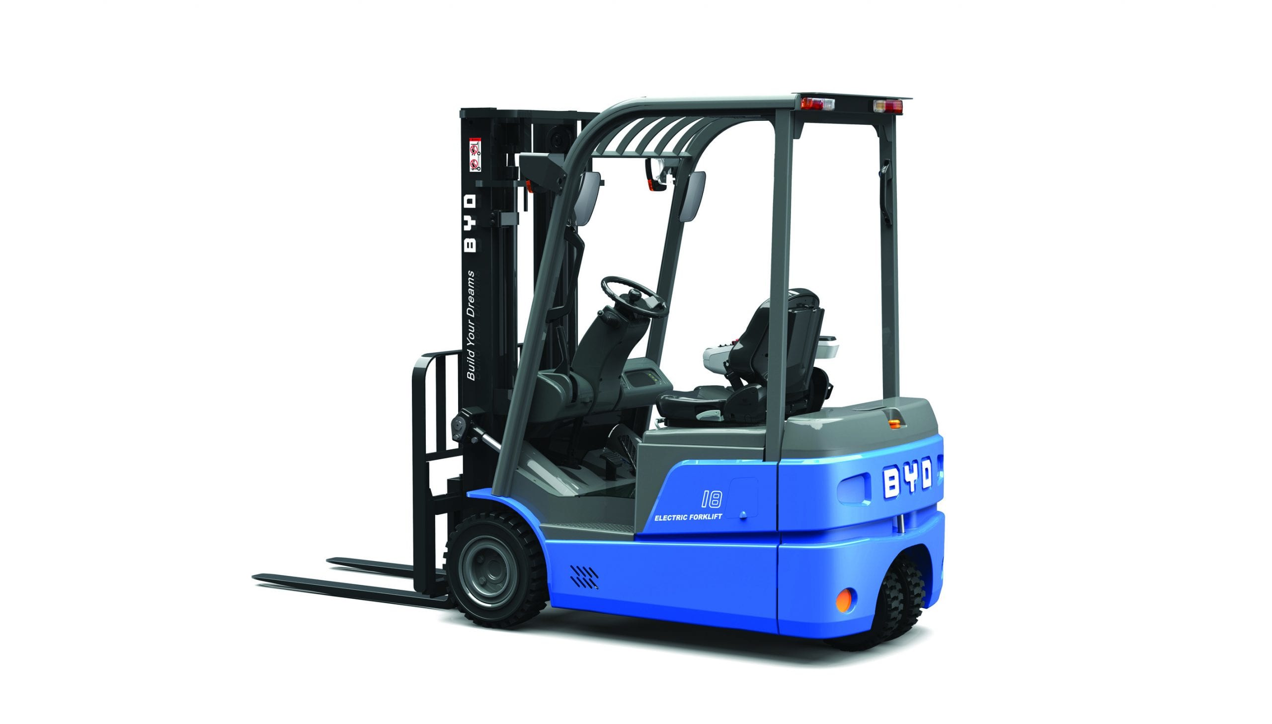 Lithium-Ion Forklifts for Sale in Northampton, Nottingham, Derby, Warwick, Leicester, Birmingham and across East Midlands, and West Midlands.