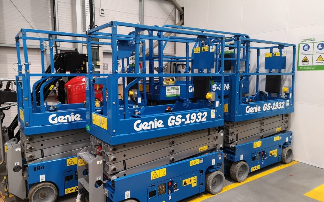 Genie scissor lifts for sale from Angus