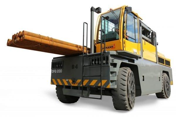 Baumann DFQ 200 Diesel Sideloader for Sale in UK, in areas like Leicester, Northampton, Nottingham, Birmingham, Derby, Warwick, West Midlands and East Midlands