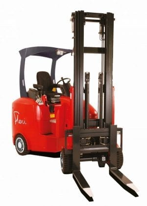 Narrow Aisle Flexi ECO Forklift for Sale in UK, in areas like Leicester, Northampton, Nottingham, Birmingham, Derby, Warwick, West Midlands and East Midlands