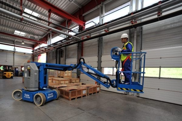 Genie Z-30/20 Cherry Picker for Sale in UK, in areas like Leicester, Northampton, Nottingham, Birmingham, Derby, Warwick, West Midlands and East Midlands