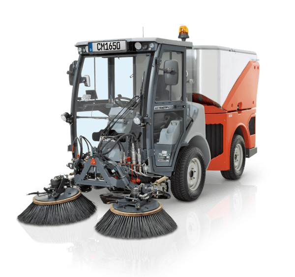 Hako CM1650 Outdoor Sweeper for Sale in UK, in areas like Leicester, Northampton, Nottingham, Birmingham, Derby, Warwick, West Midlands and East Midlands
