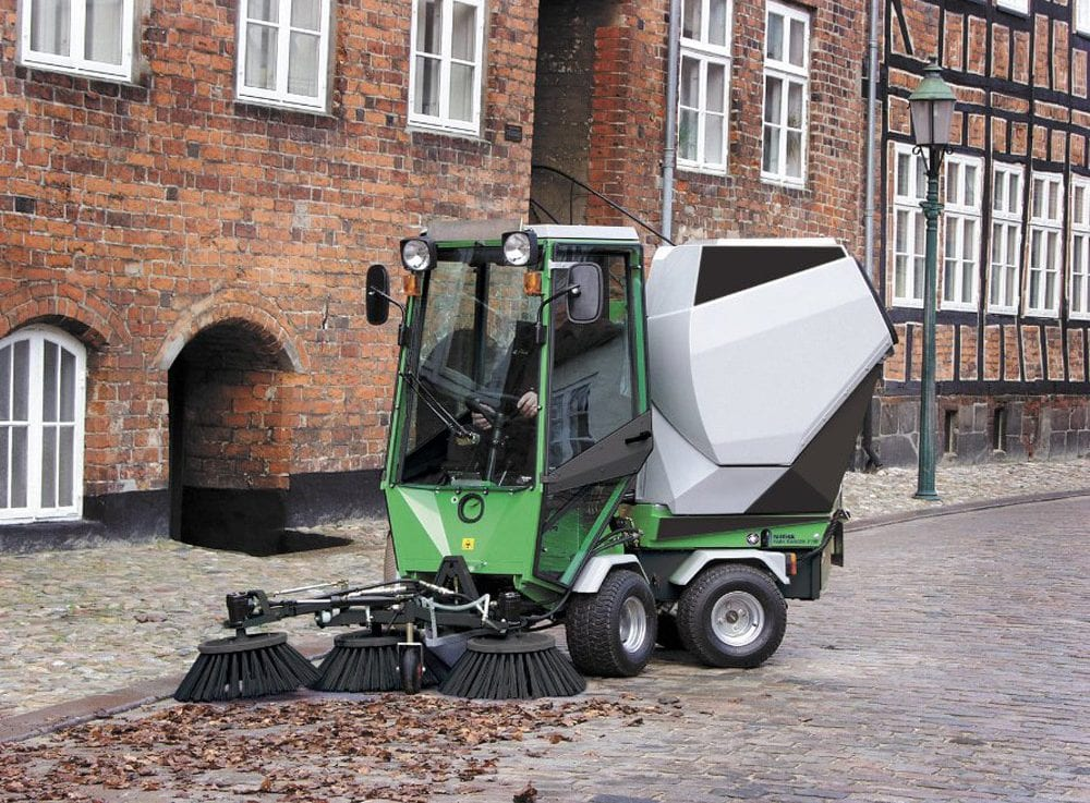egholm 2150 outdoor sweeper for sale